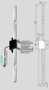Bilde av ANTENNENSYSTEME DAB-antenne - SMB (han)